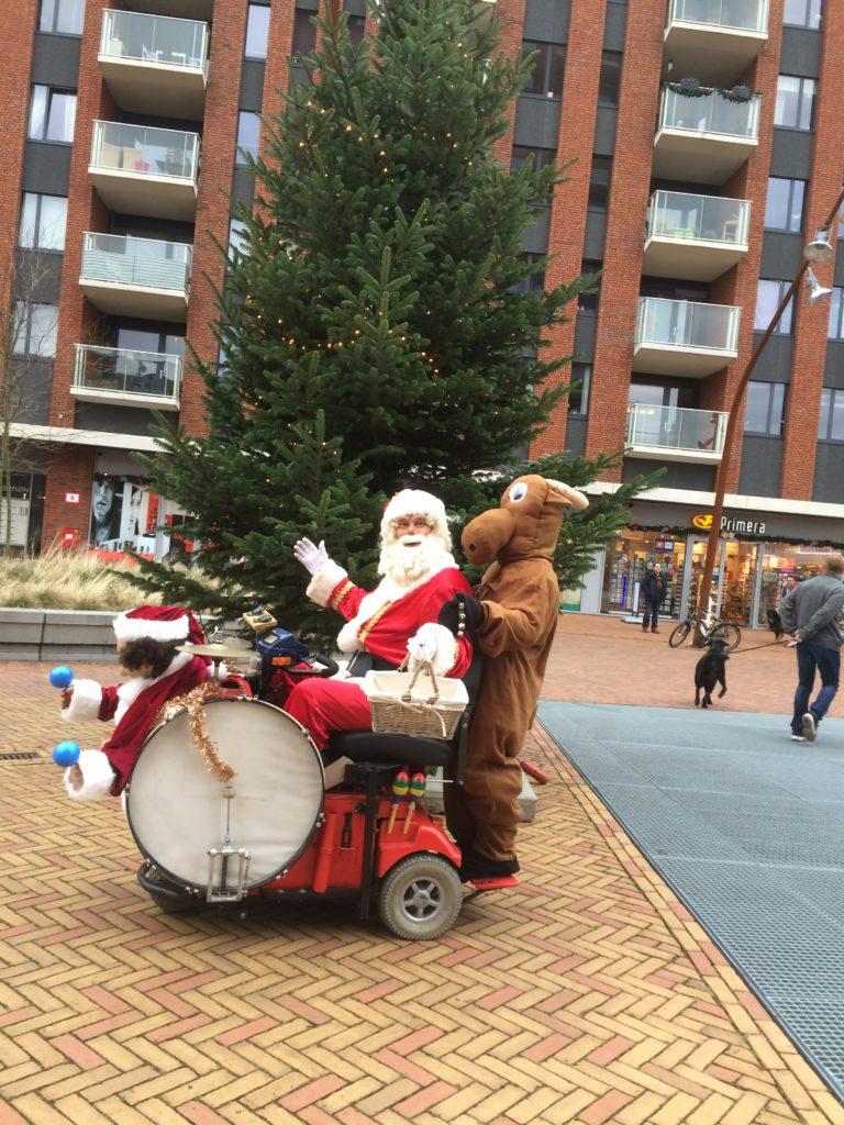 Muzikale Kerstman met Kerst Mixie Mini Band