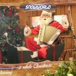 Muzikale kerstman in Snowworld